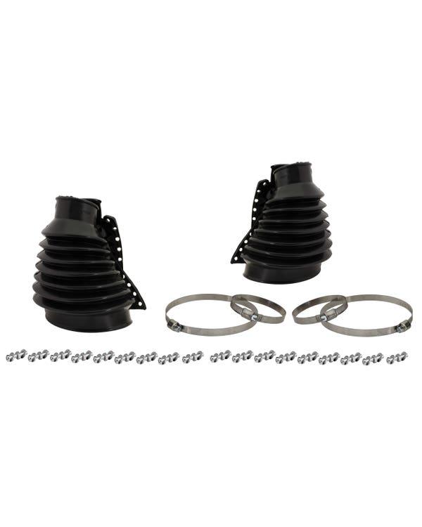 Swing Axle Boot Kit Black Pair