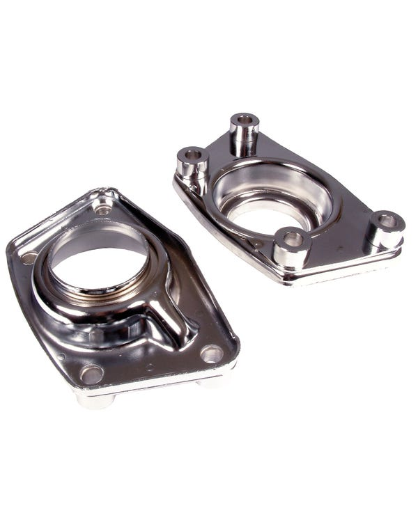 Chrome Torsion Arm Covers Pair For Independent Rear Suspension