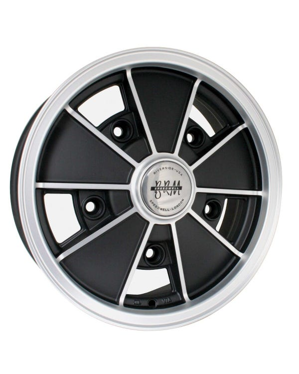 SSP BRM Alloy Wheel Matt Black 5Jx15'', 5/205 PCD, ET14