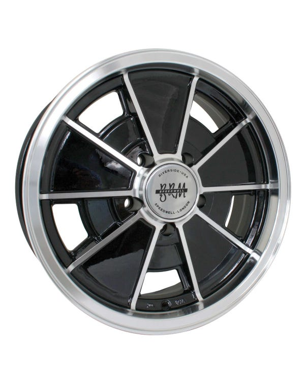 SSP BRM Alloy Wheel Gloss Black 5.5Jx15'' with 5x112 Stud Pattern ET12