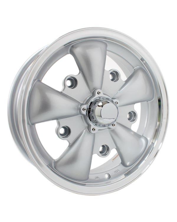 Llanta, SSP GT5, Plata / Pulida, 5/205,  5.5x15, ET20