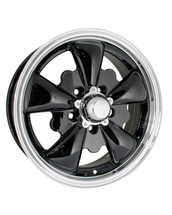 Llanta, SSP GT5, Negro / Pulido, 5/112,  5.5x15, ET20