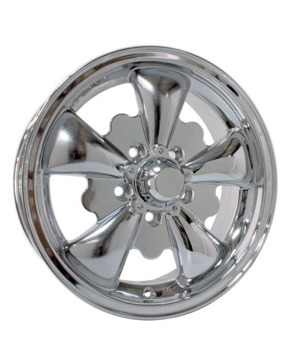 SSP GT 5 Spoke  Alloy Wheel Chrome 5.5Jx15'' with 5x112 Stud Pattern ET20