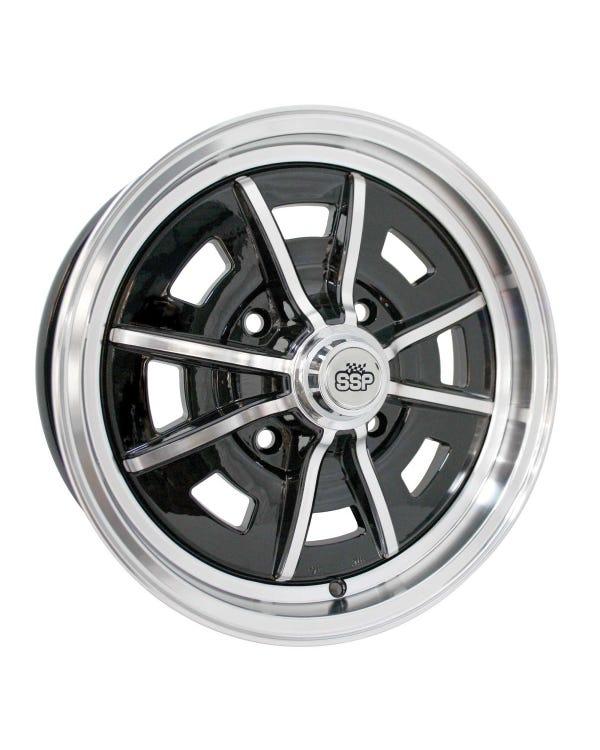 SSP Sprintstar Alloy Wheel Gloss Black 5Jx15'' with 4x130 Stud Pattern ET25