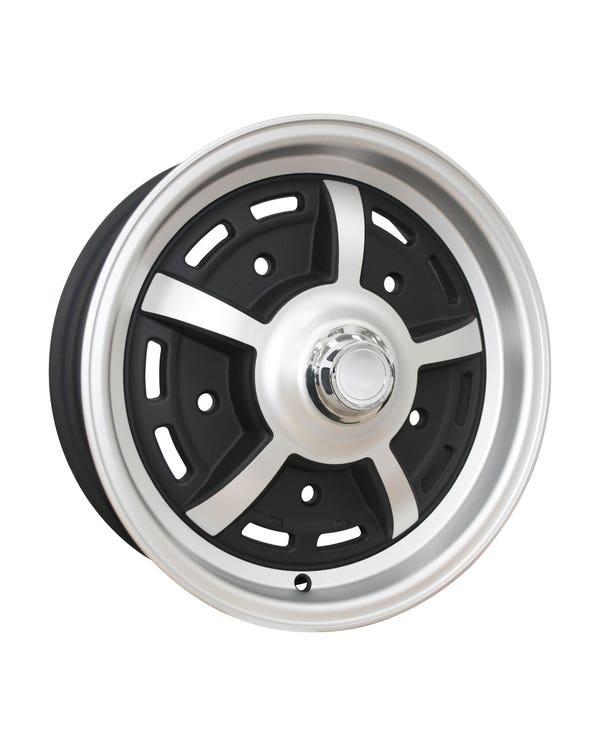 "SSP Sprintstar Alloy Wheel Matt Black 5x15"", 5/205 PCD, ET20"