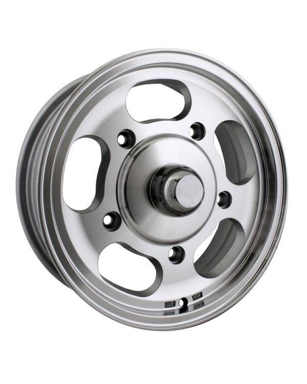 SSP Slot Mag Alloy Wheel Machine Cut 5.5Jx15'' with 5x205 Stud Pattern