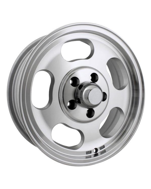 Slot Mag Alloy Wheel Machine Cut 5.5Jx15'', 5/112 PCD, ET23