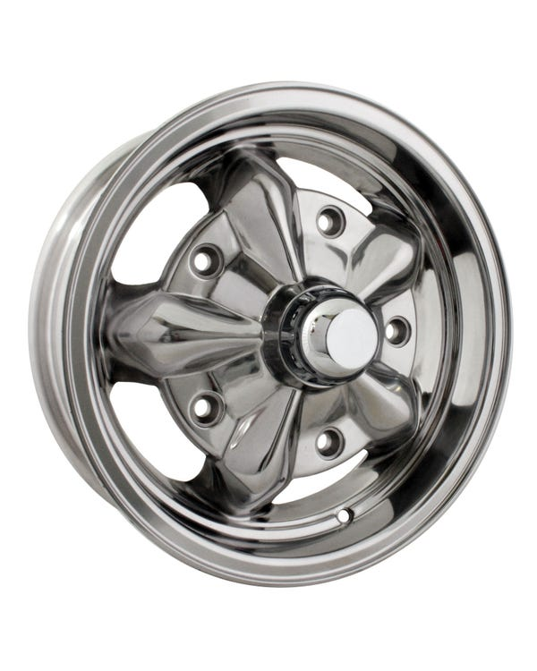 SSP Torque Alloy Wheel Fully Polished 5Jx15'' 5x205 Stud Pattern ET16
