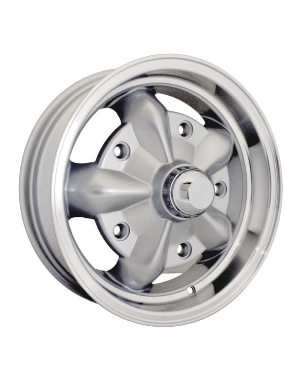 SSP Torque Alloy Wheel Silver 5Jx15'' with 5x205 Stud Pattern ET16