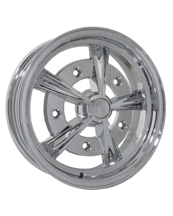 SSP Raider Alloy Wheel Chrome 5x15'', 5/205 PCD, ET20