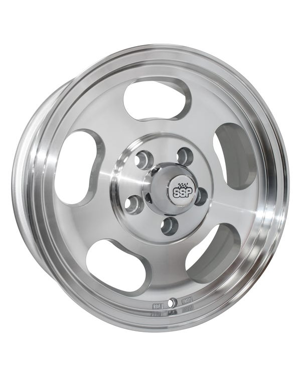 SSP Slot Mag Alloy Wheel 5.5Jx15'' with 5x112 Stud Pattern ET23