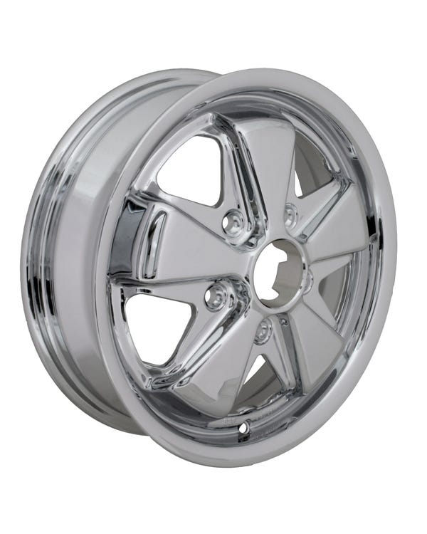 SSP Fooks Alloy Wheel Chrome 4.5Jx15'' with 5x130 Stud Pattern ET45