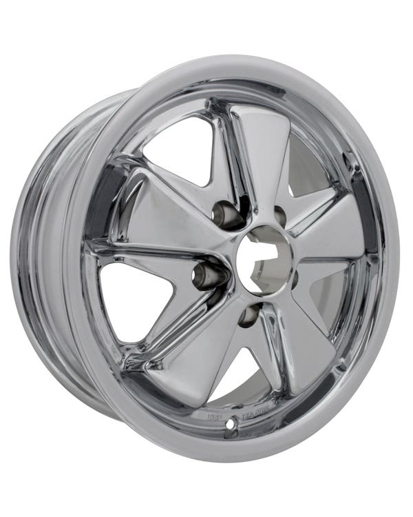 SSP Fooks Alloy Wheel Chrome 5Jx15'' with 5x112 Stud Pattern ET20
