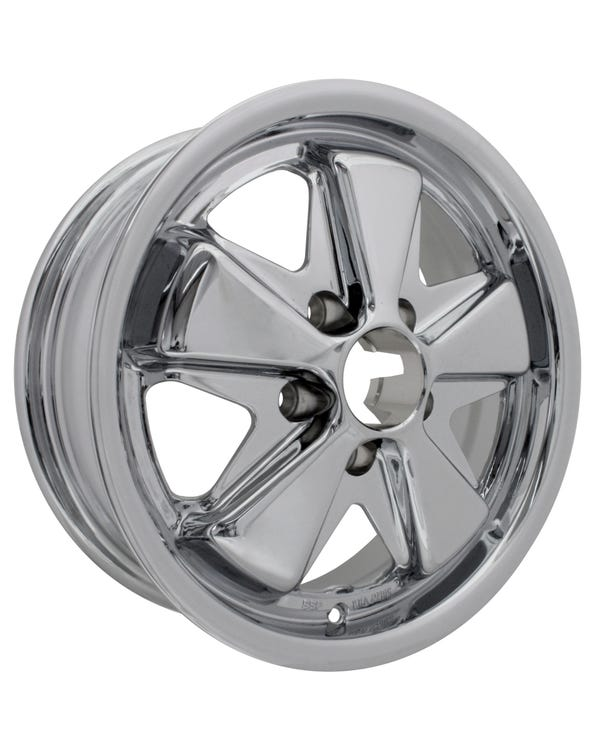 SSP Fooks Alloy Wheel Chrome 5Jx15'' with 5x112 Stud Pattern ET20