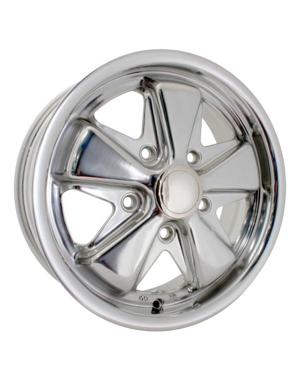 SSP Fooks Alloy Wheel Fully Polished 5.5Jx15'' with 5x112 Stud Pattern ET20