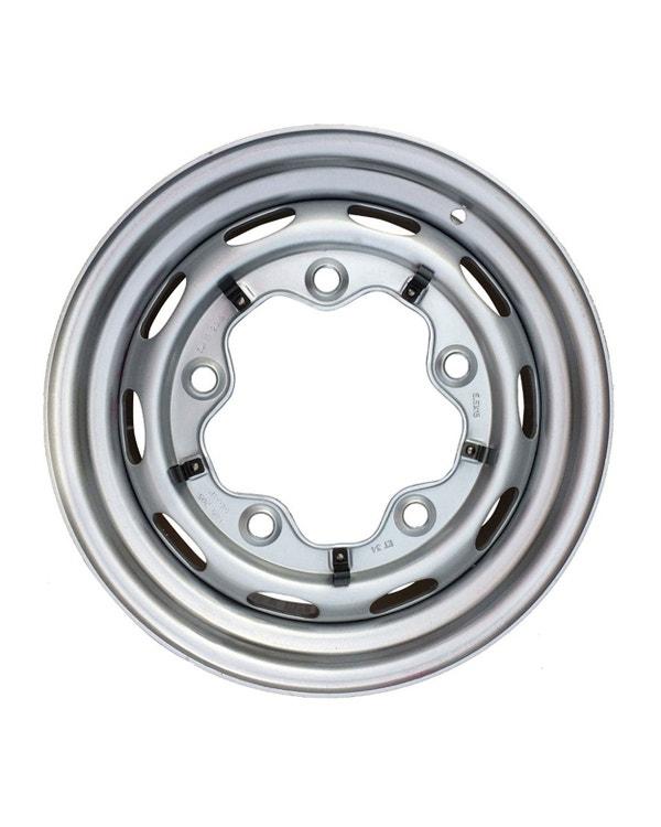 Steel Wheel 10 Slot, 4.5JX15, 5X205, ET25