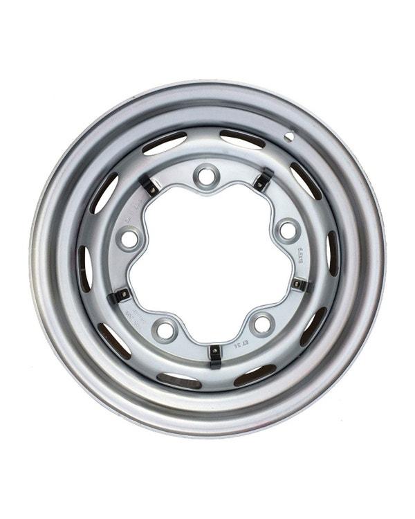 Steel Wheel 10 Slot, 5.5JX15, 5X205, ET15
