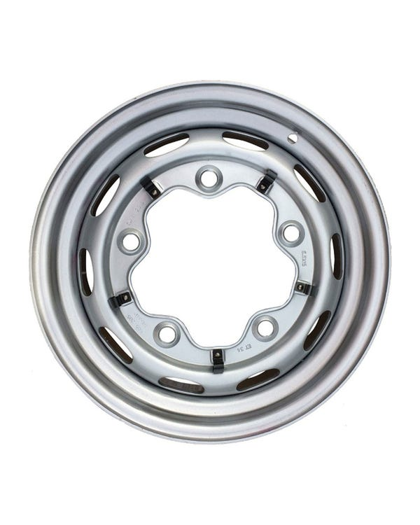 Steel Wheel 10 Slot, 5.5JX15, 5X205, ET15