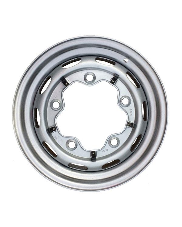 Steel Wheel 10 Slot, 5.5JX15, 5X205, ET34