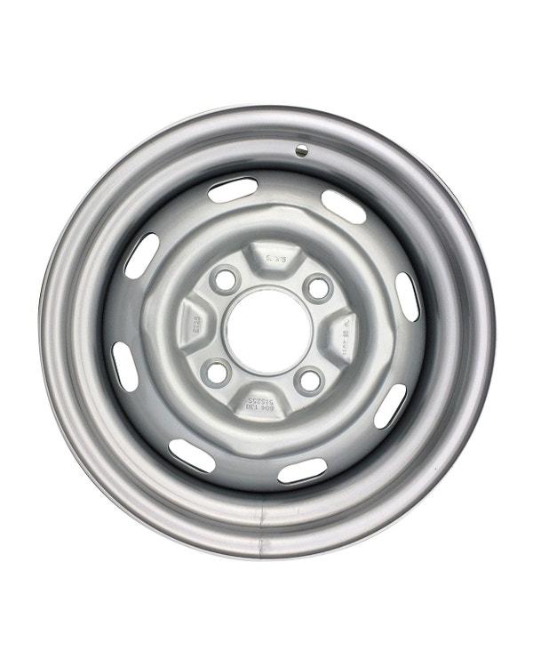 """Steel Wheel 8 Slot, 4.5Jx15"""", 4x130 Stud Pattern, ET34"""
