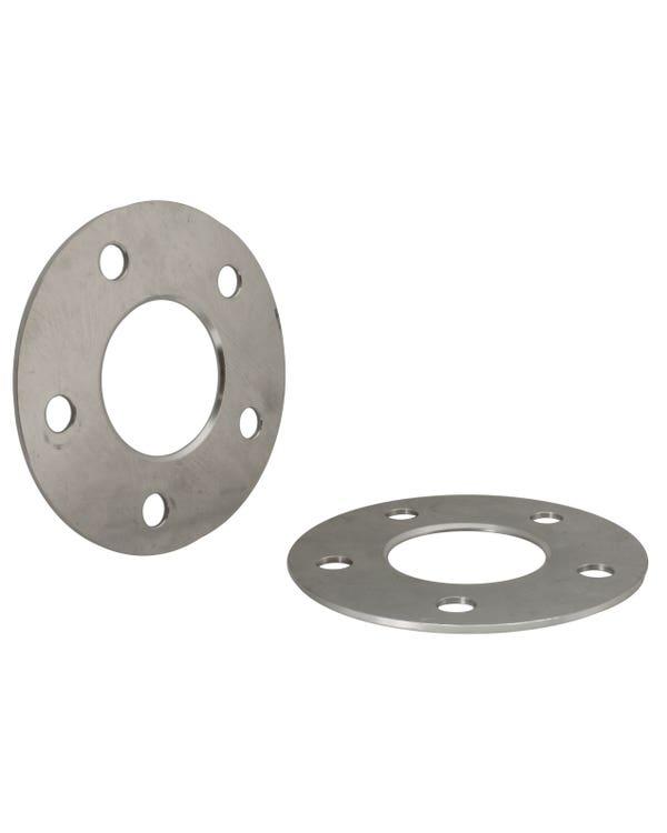 Espaciadores de ruedas SSP de 3mm de grosor, patrón de espárragos de 5x112, pareja de aluminio