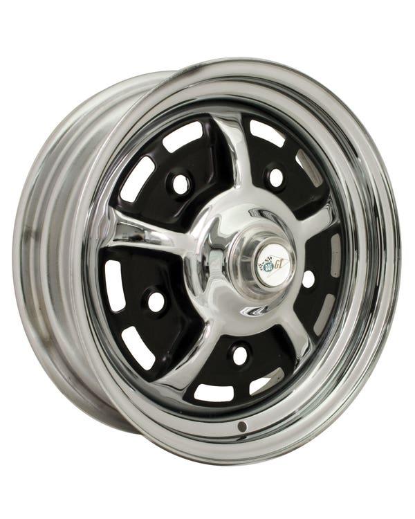 """Sprintstar Wheel Silver and Black 4.5Jx15"""", 5/205, ET34"""