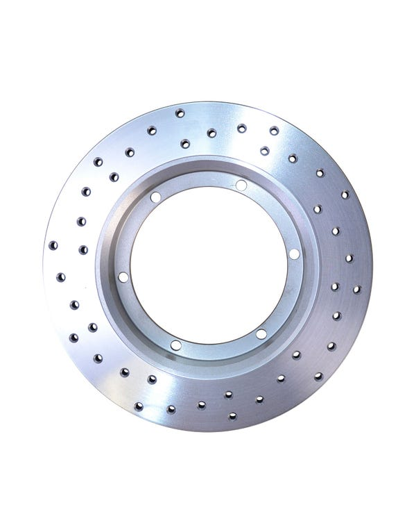 CSP Cross Drilled 14'' Solid Front Brake Disc Left