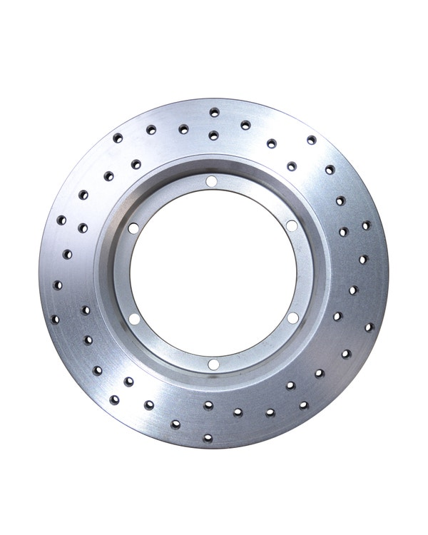 CSP Cross Drilled 14'' Solid Front Brake Disc Right