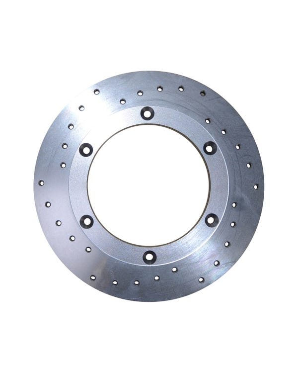 CSP Cross Drilled 15'' Solid Front Brake Rotor Right