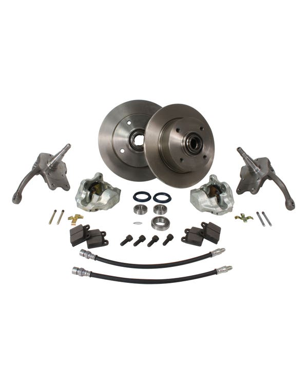 Front Disc Brake Conversion Kit with 4x130 Stud Pattern