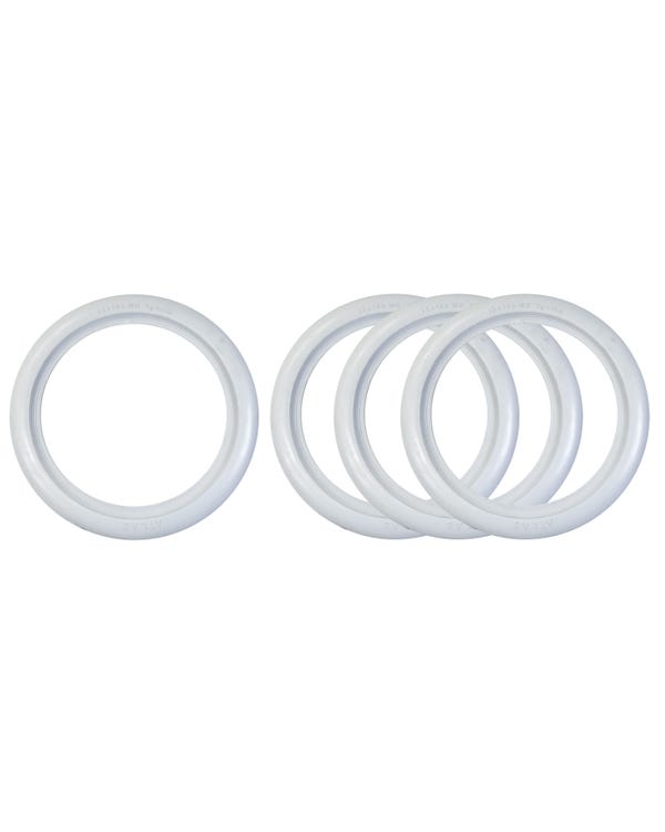 Whitewall Tyre Trims 13'' Set of 4