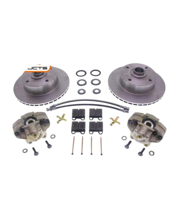 Front Vented Disc Brake Kit with 4x130 Stud Pattern