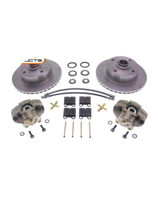 Front Vented Rotor Brake Kit with 4x130 Stud Pattern