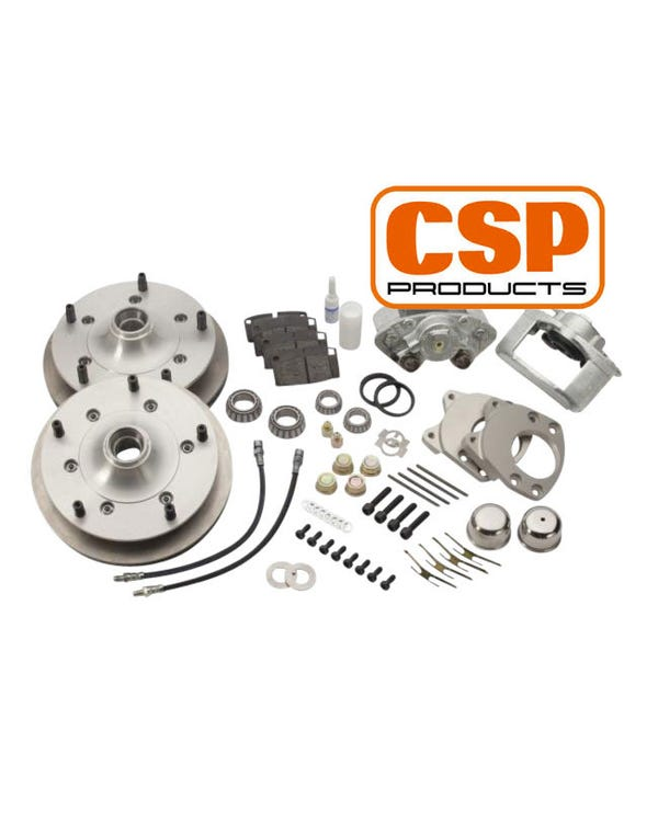 CSP Front Disc Brake Kit with 5x205 Stud Pattern for Dropped Spindles