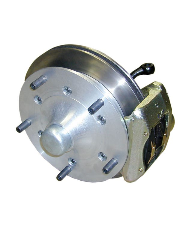 CSP Front Vented Disc Brake Kit with 5x205 Stud Pattern for Dropped Spindles