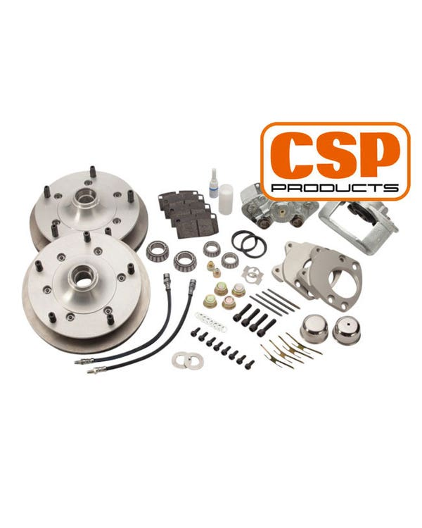 """CSP Front Disc Brake Conversion Kit with 5x205 Stud Pattern for 15"""" Wheel"""