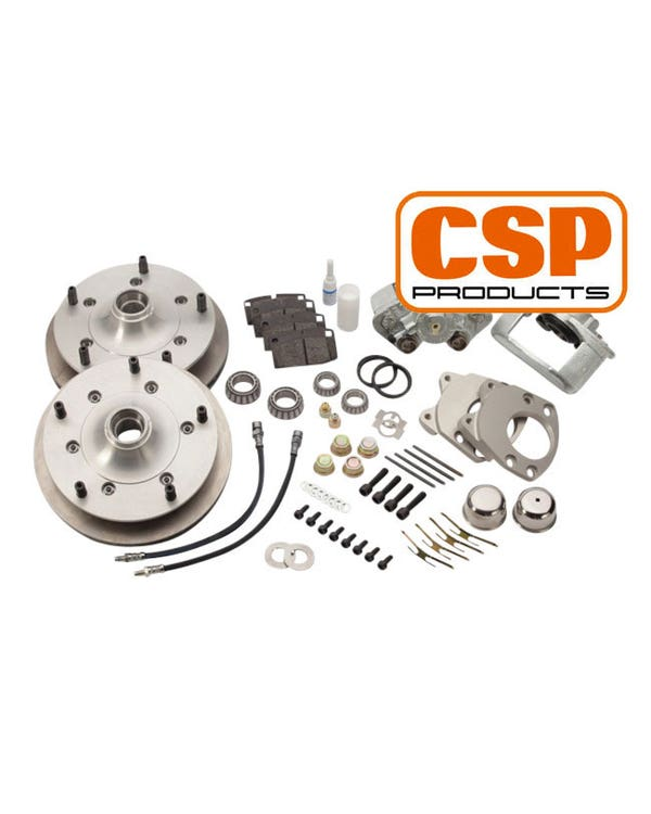 """CSP Front Vented Disc Brake Conversion Kit with 5x205 Stud Pattern for 15"""" Wheel"""