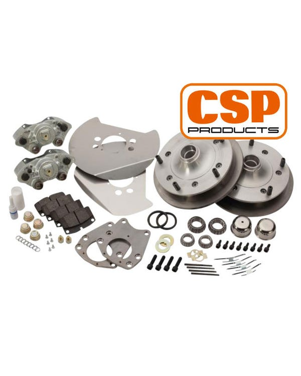 CSP Front Disc Brake Conversion Kit with 5x205 Stud Pattern for 15''Wheel