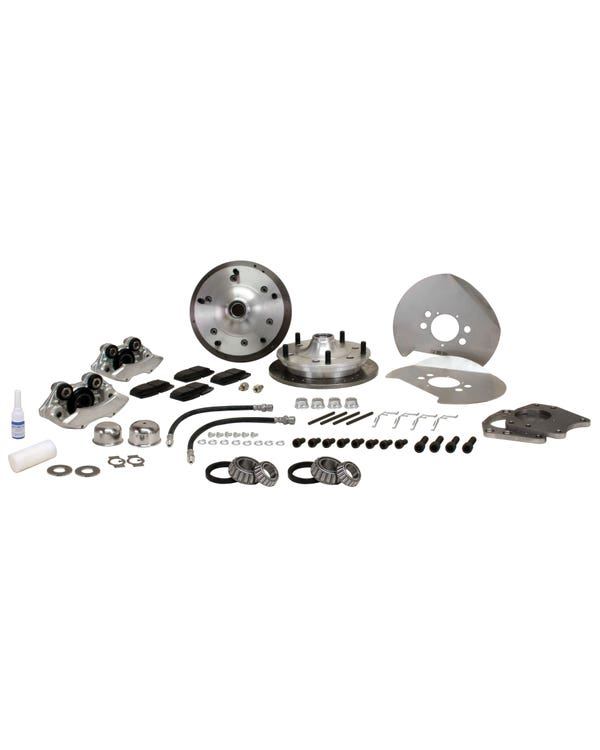 """CSP Front Cross Drilled Disc Brake Conversion Kit with 5x205 Stud Pattern for 15"""" Wheel"""