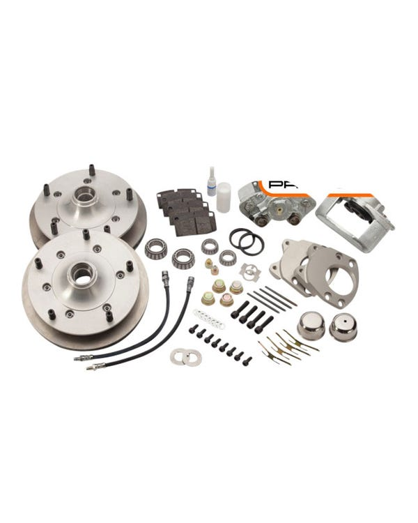 CSP Front Vented Disc Brake Conversion Kit with 5x130 Stud Pattern