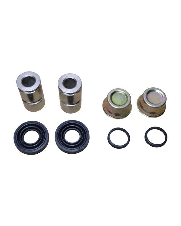 Front Brake Caliper Slider Repair Kit for CSP Brake Systems with Delco Calipers