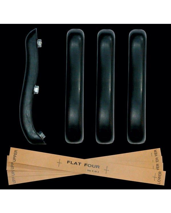 Kit Protectores de Toretas Paragolpes, Flat 4