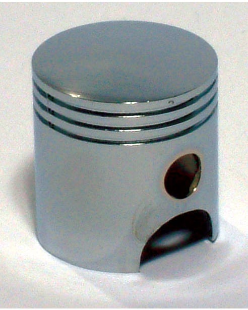 Chrome Piston Gear Knob