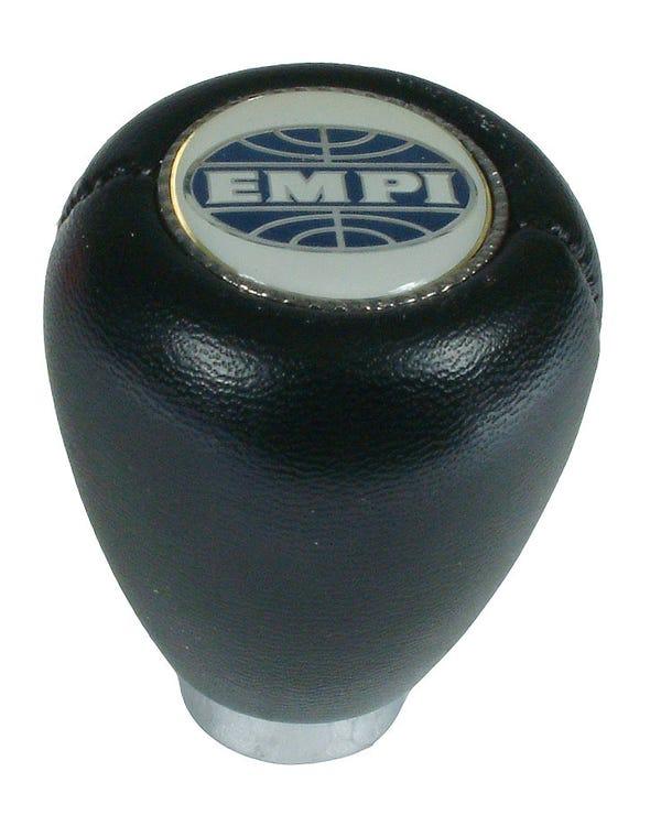 Schaltknauf mit EMPI-Logo, schwarz