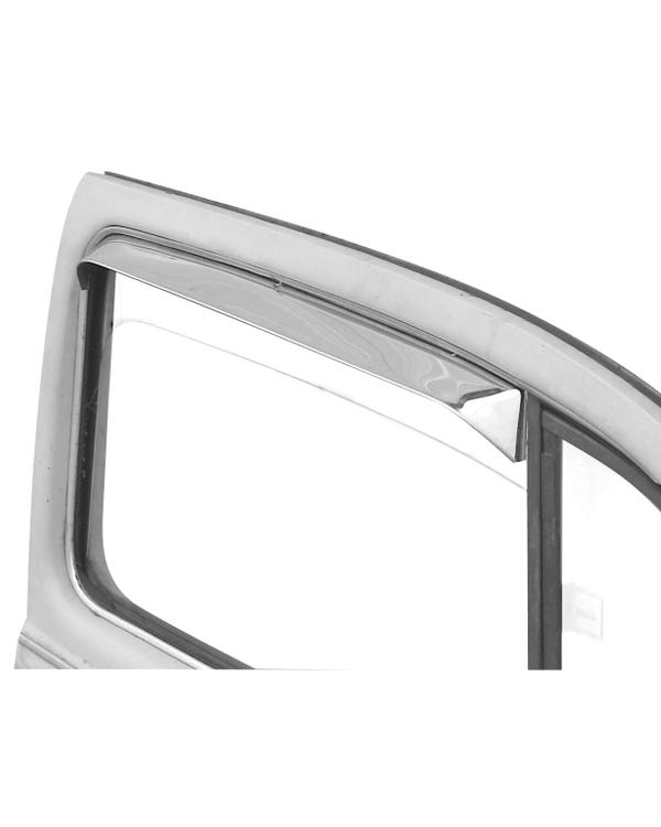 Windabweiser aus Edelstahl für's Seitenfenster, Paar