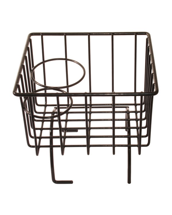 Tunnel Storage Basket Black