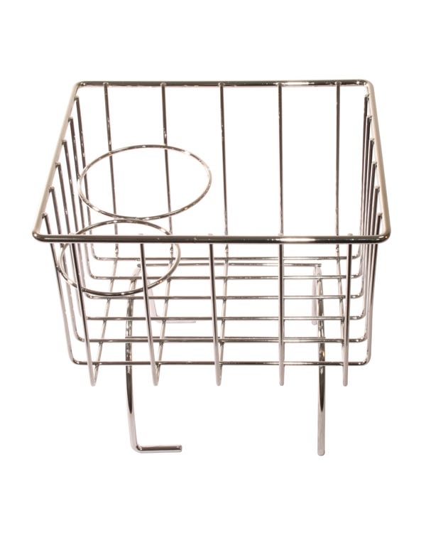 Tunnel Storage Basket Chrome