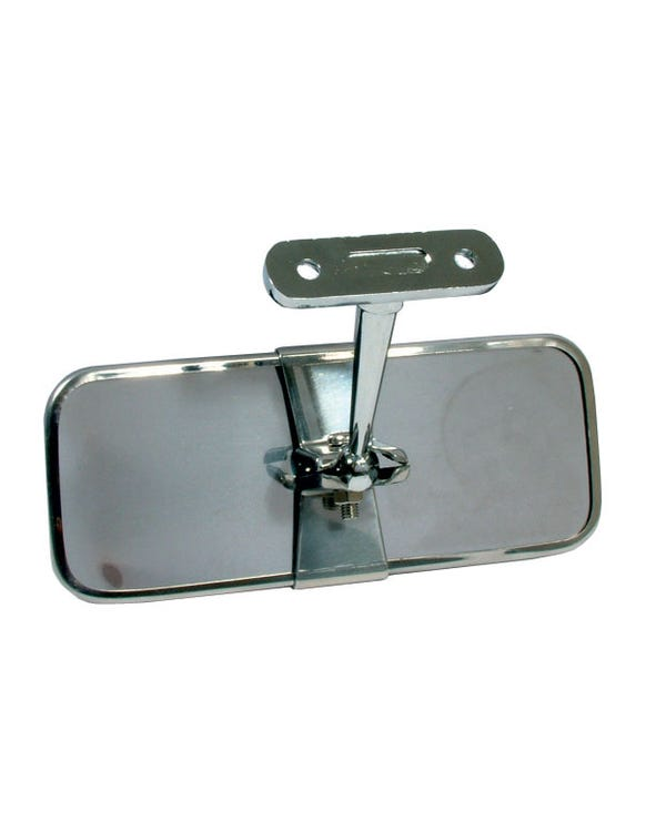 Interior Rear View Mirror Chrome