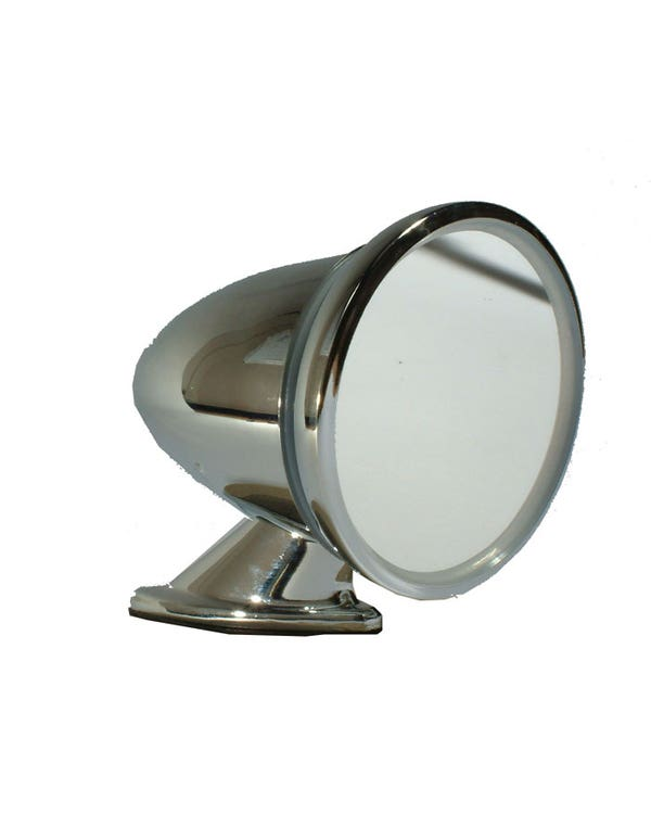 Bullet Mirror with Seal and Mounting Hardware