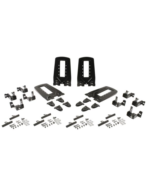 Roof Bar End Piece Set of 4 for Standard Roof